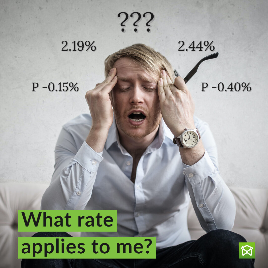 What mortgage rate applies to me